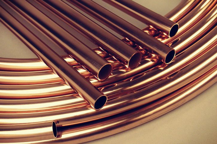 CFC free Copper pipe for VRV/VRF Application